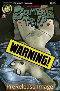 ZOMBIE TRAMP ONGOING (2014 DANGER ZONE) #73 VARIANT CVR D MCCOMB R PRESALE-09/09