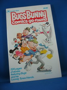 BUGS BUNNY COMICS GO ROUND 1 VF+ 1979 228 Pages
