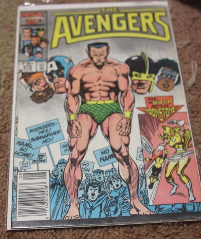 Avengers # 270 (Aug 1986, Marvel)namor wasp hercules black knight thor cap