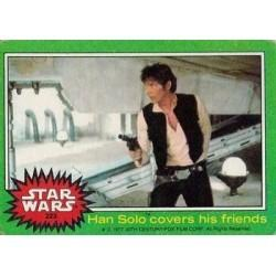 1977 Topps Star Wars HAN SOLO COVERS HIS FRIENDS #223 EX/MT