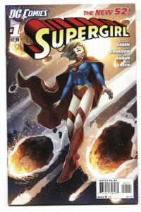 SUPERGIRL #1-2011-FIRST ISSUE-DC New 52 comic book