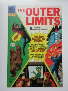 Outer Limits (Dell 12-605-709 September 1967) #15 Fine Last Human on Earth!