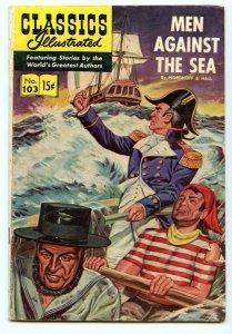 Classics Illustrated 103 (Original) Jan 1953 VG (4.0)