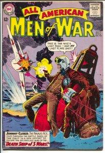 All-American Men Of War #111 1965-DC-NAVAJO ACE-JOHNNY CLOUD VG-