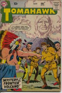 Tomahawk #60 1959-DC-Indians-mystery issue-VG-