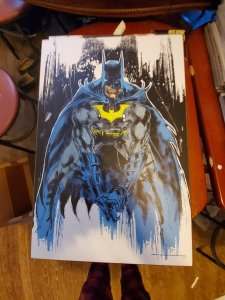 Batman wooden wall art