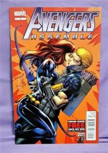 Brian Bendis AVENGERS ASSEMBLE #5 Mark Bagley Guardians of Galaxy (Marvel, 2012)