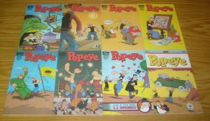 Popeye #1-12 VF/NM complete series - roger langridge - idw comics set 2012 lot