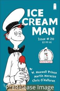 ICE CREAM MAN (2017 IMAGE) #20 VARIANT CVR B Dr Seuss Homage Cat In The Hat NM