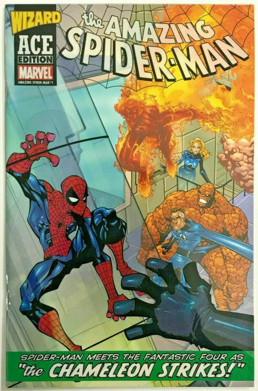 AMAZING SPIDER-MAN#1 VF/NM 2003 WIZARD ACE EDITION MARVEL COMICS