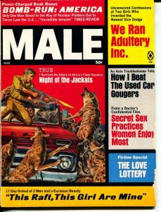 Male-3/1969-Pussycat-Jackals-Bombs-Sex-Adventure