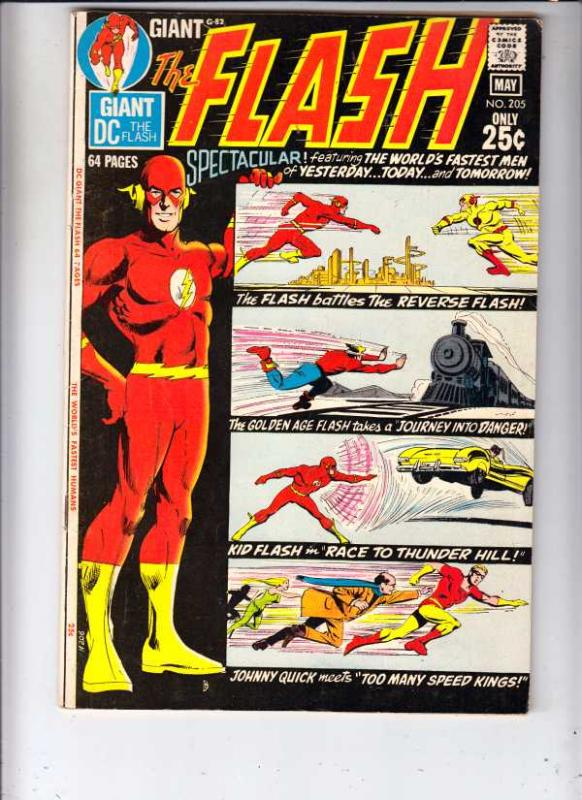 Flash, The #205 (Apr-71) VF+ High-Grade Flash