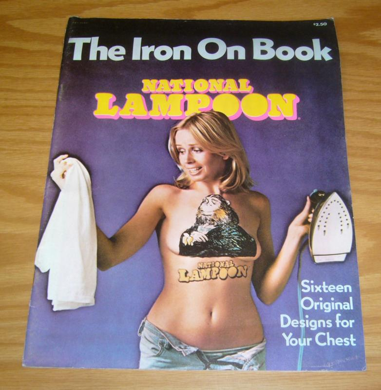 National Lampoon: the Iron On Book #1 FN sixtreen original designs 1976 rare