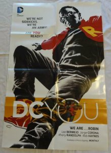 DC YOU Promo Poster - ROBIN, 22 x 34, 2015, DC,  Unused more in our store 028