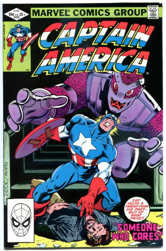 CAPTAIN AMERICA #270 271 272 273 274, VF/NM, Baron Strucker, Mike Zeck, 1968