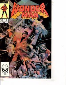 Lot Of 2 Comic Books Marvel Wonder Man #1 and Strikeforce Morituri #3 WT21