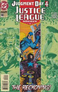 Justice League America #90