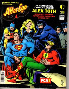 Alter Ego #63 December 2006 Remembering Comics Legend Alex Toth, Interview