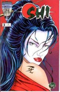 SHI (1994 CRUSADE) 3 VF-NM   Oct. 1994 COMICS BOOK