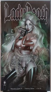 Lady Death Damnation Game #1 NM Temptress Edition Signed by Pulido with COA