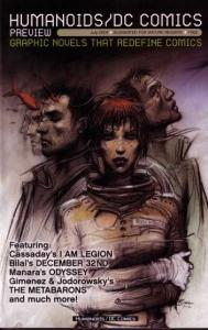 HUMANOIDS-DC COMICS-GRAPHIC NOVEL PREVIEW-JULY 2004
