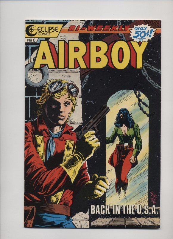 Airboy #6 (1986)