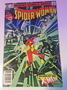 Spider-Woman #38 Juggernaut Volume One!! Her Deadliest Foes X-Men FN