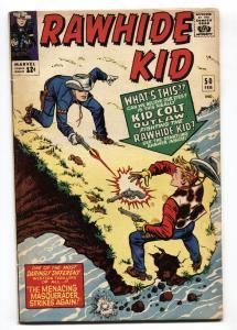 RAWHIDE KID #50 1966-MARVEL-Kid Colt-nice copy
