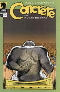 Concrete: The Human Dilemma #3 VF; Dark Horse | save on shipping - details insid