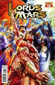 Lords of Mars (Vol. 1) #1 VF/NM; Dynamite | save on shipping - details inside