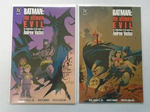 Batman The Ultimate Evil set #1+2 8.0/VF (1995)
