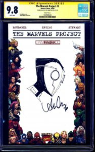 Marvels Project #1 BLANK CGC SS 9.8 signed Deadpool 2099 SKETCH by Annie Wu
