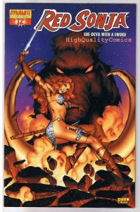 RED SONJA #12, NM-, Rubi Variant, Robert Howard, She-Devil, more RS in store