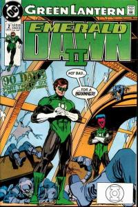 Green Lantern: Emerald Dawn II #2, VF- (Stock photo)