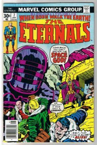 ETERNALS #7, VF, Jack Kirby, Fourth Host, 1976, more JK in store