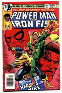 Power Man and Iron Fist #54 1978 VF comic book First HEROES FOR HIRE