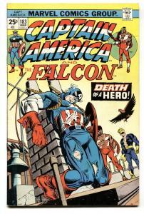 CAPTAIN AMERICA #183 1974 Red Skull issue-Comic Book VF+