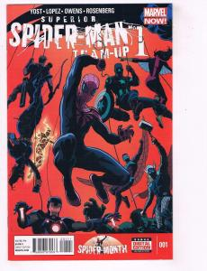 Lot Of 2 Superior Spider-Man Team Up Marvel Comic Books # 1 2 NM 1st Prints J56