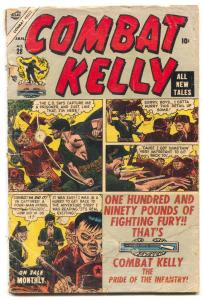 Combat Kelly #28 1955-Last Precode issue- no back cover