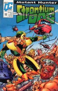 Strontium Dog #18 VF/NM; Fleetway Quality   save on shipping - details inside