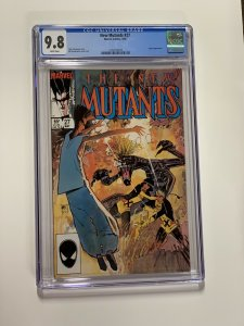 New Mutants 27 Cgc 9.8 White Pages Marvel X-men Copper Age
