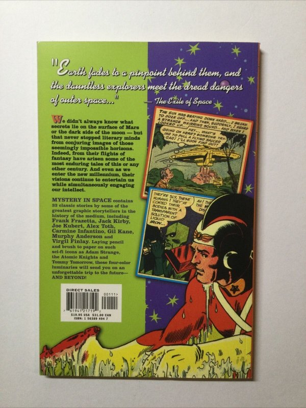 Mystery in Space Tpb Softcover Sc Pulp Fiction Library DC Comics