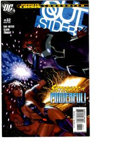 10 Outsiders DC Comic Books # 32 33 34 35 36 37 38 39 40 41 Nightwing BH10