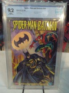 Spider-Man and Batman - CBCS 9.2 - Marvel 1995 - Joker and Carnage