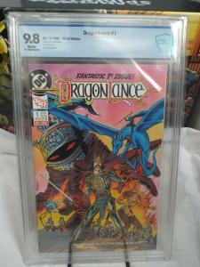 Dragonlance #1 (1988) - CBCS 9.8 - White Pages - D&D Classic Series