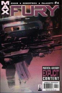 Fury (2001 series) #4, NM (Stock photo)