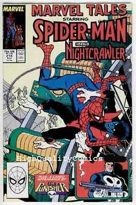MARVEL TALES 214, NM, Spider-man, Punisher, Ross Andru, more in store