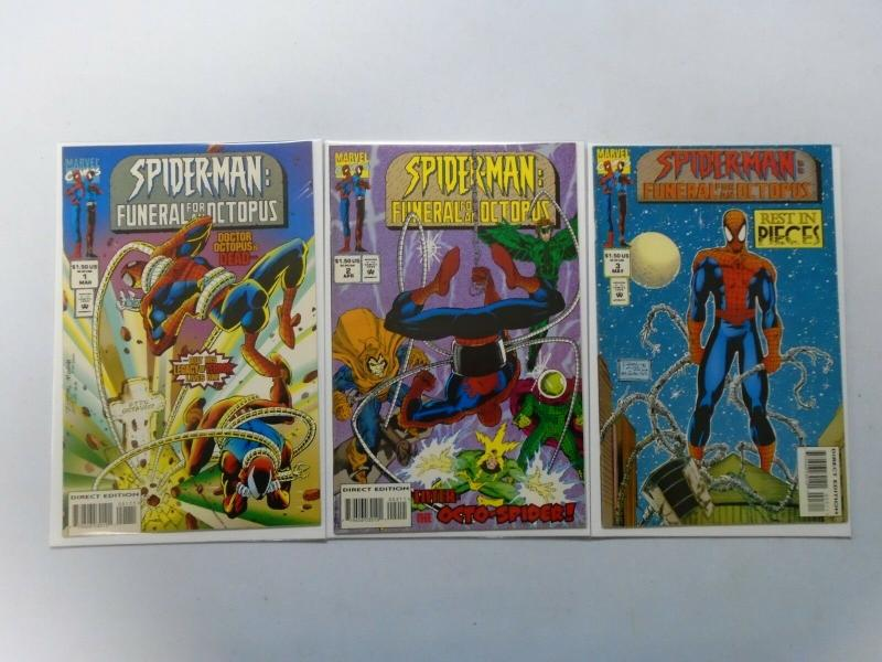 Spider-Man Funeral for an Octopus, Set:#1-3, 6.0/FN (1995)