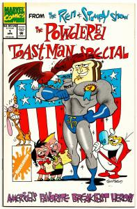 Ren And Stimpy Powdered Toast Man Special #1 (Marvel, 1994) NM