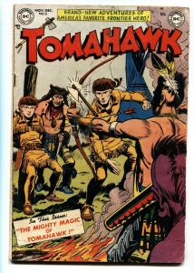TOMAHAWK #8 DC WESTERN -MIGHTY OF MAGIC- GOLDEN AGE 1951